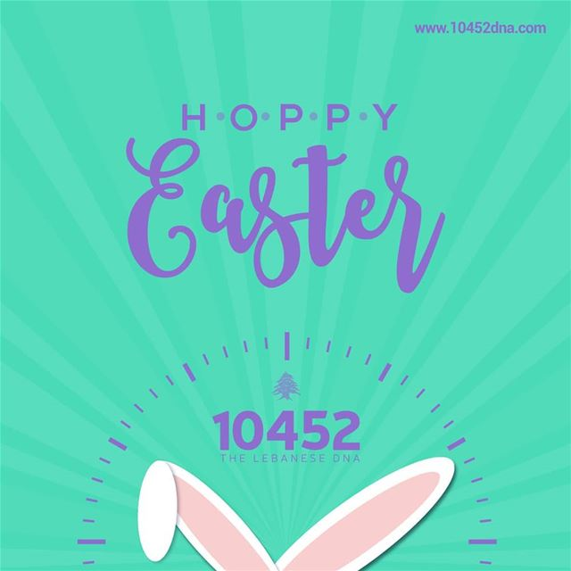 And hop happyeaster to all who are celebrating this weekend 10452 ... (Lebanon)