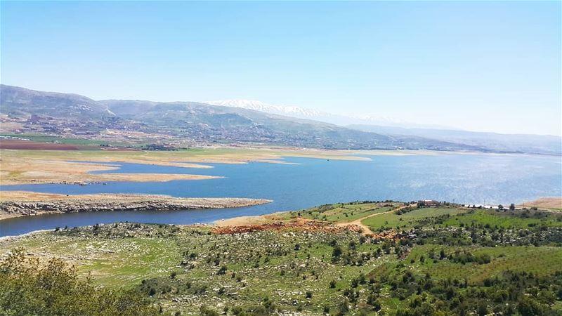 Magical valley westbekaa 💚💙 with the best guide @aline_grg 😉 (Saghbîne, Béqaa, Lebanon)