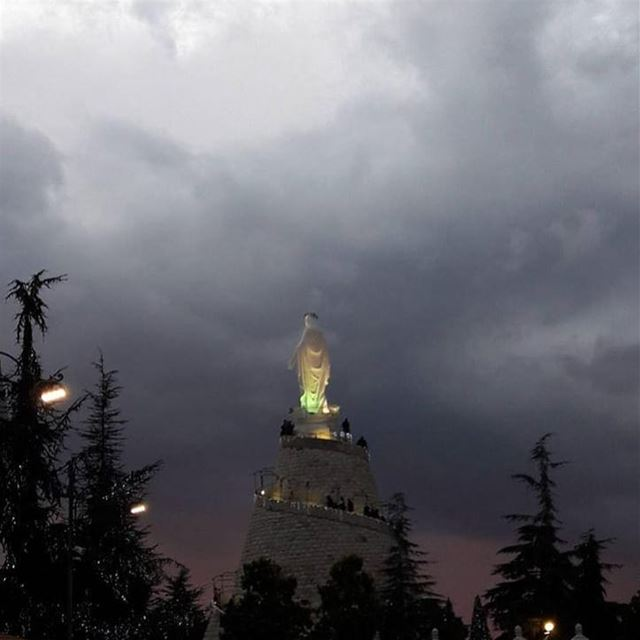 🙏... bestofleb bestoftheday ig_lebanon ig_daily whatsuplebanon ... (Our Lady of Lebanon)