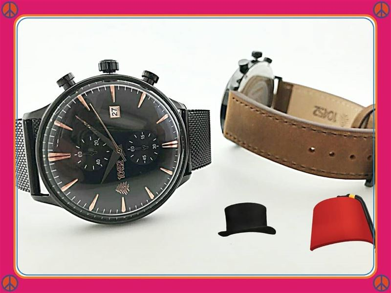 Whatever type of men you are the 10452DNA Cedar watch is yours. mesh... (Lebanon)