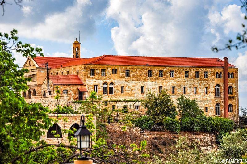 St. Elie Monastery, built in 1736 in Jeita Lebanon. monastère monastery... (Jeita-Keserwan)