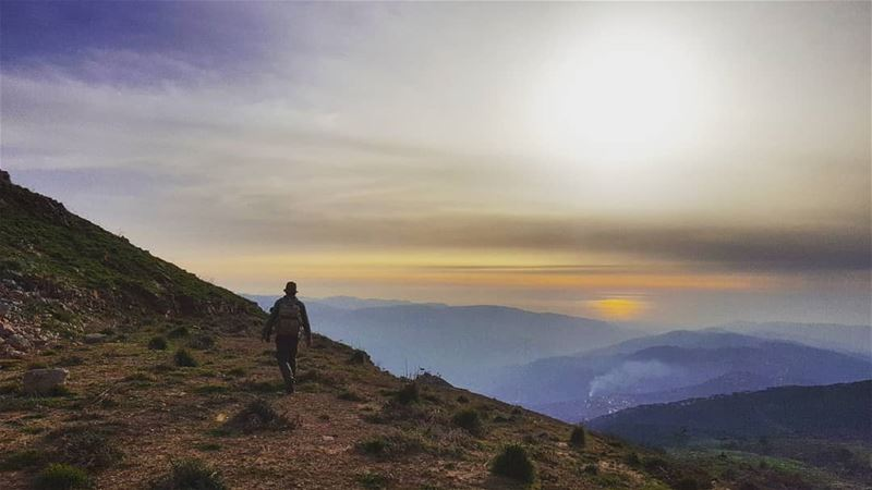 And where the traveler goes, nobody knows 🍃 (Falougha, Mont-Liban, Lebanon)