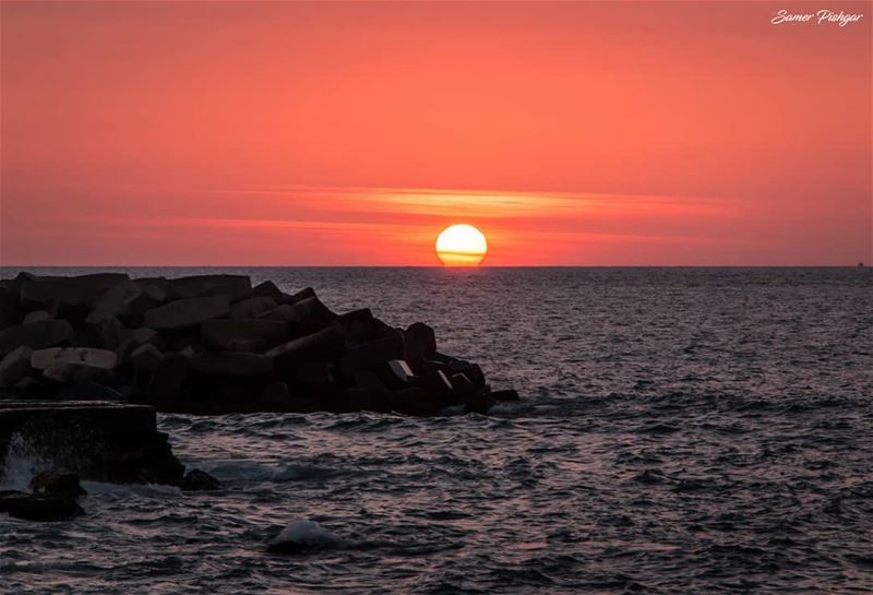 God's fingerprint...Beirut - Lebanon... sunsets Lebanon sunlight ...