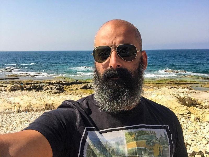 Good morning from Amchit! me lebanon amchit sea sunnyday igers ... (Amchit)