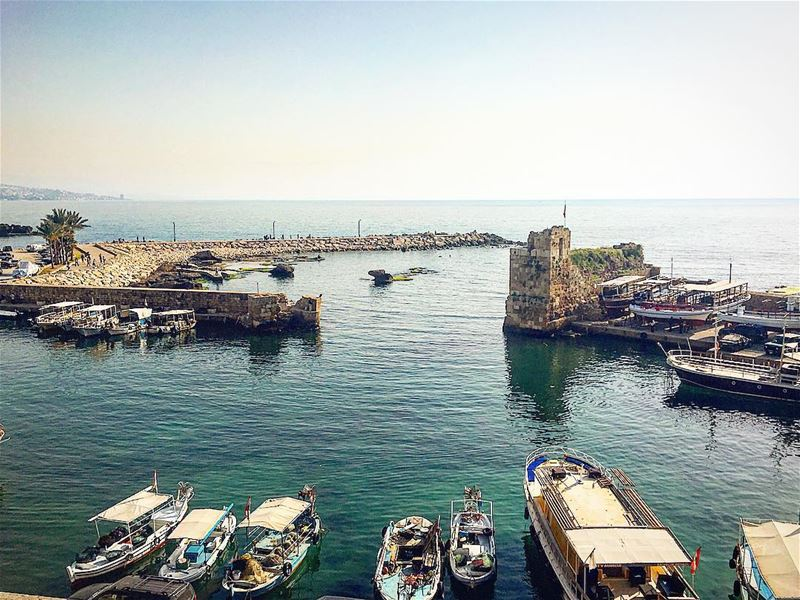 A ship in port is safe, but that's not what ships are meant for. lebanon ... (Byblos - Jbeil)