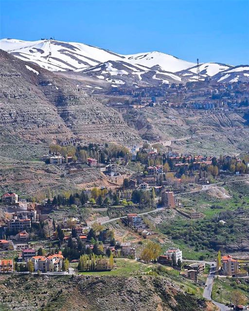 Colors of spring in Kfardebian 💚🏔🍃... (Kfardebian,Mount Lebanon,Lebanon)