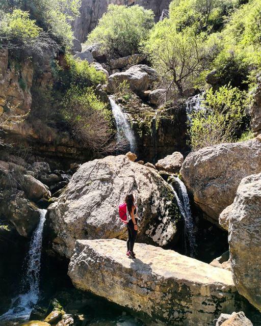 DiscoverNature FeelNature ChasingWaterfalls Faraya Lebanon... (Faraya, Mont-Liban, Lebanon)