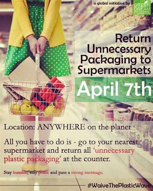 Tomorrow is the global initiative to Return Unnecessary Packaging to...
