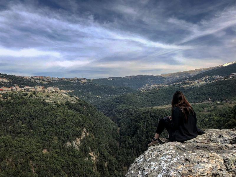 There's a whole world out there, waiting for you. Great cities, art, and... (Miziâra, Liban-Nord, Lebanon)
