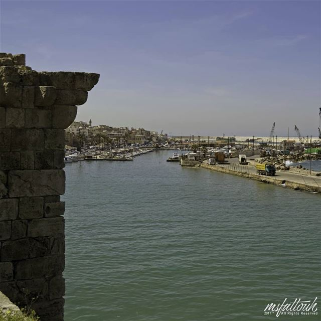 Sidon in the Bible:It was the first home of the Phoenicians on the coast...