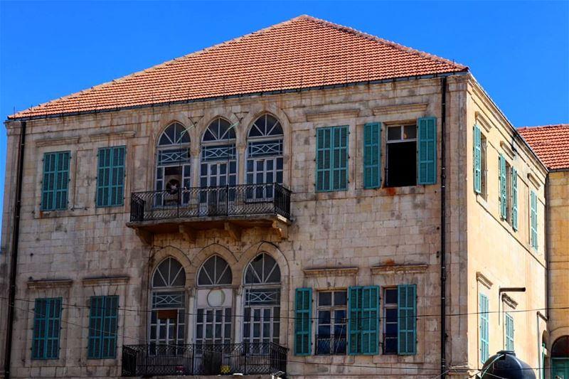 Sabahooo from Baalbeck🕥... Morning heritagehouse bekaa lenanon ... (Baalbeck, Béqaa, Lebanon)