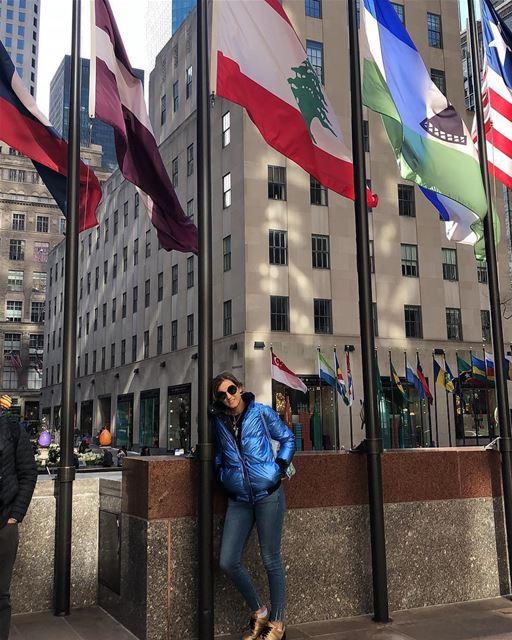 🇱🇧 Nunca esqueça das suas raízes, onde quer que você esteja! 📸 @lamahbou (New York, New York)