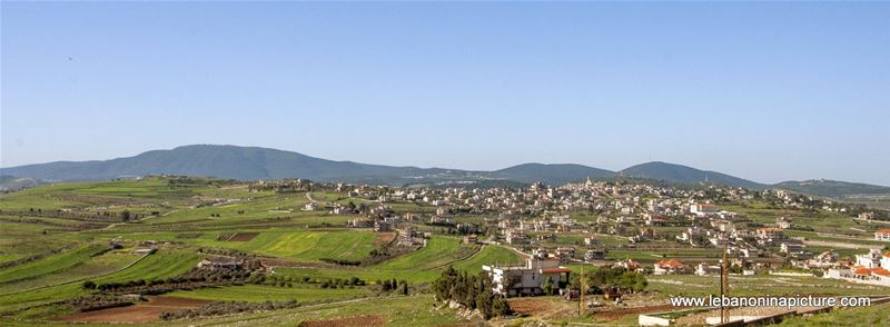 Green Fields and Panorama - Spring 2018 (Yaroun, South Lebanon)