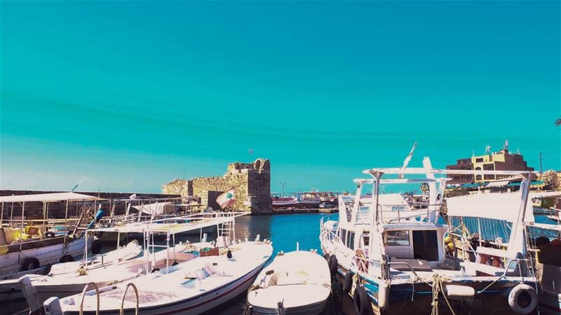 //A raising tide lifts all boats.// livelovelebanon jbeil photo... (Jbeil جبيل)