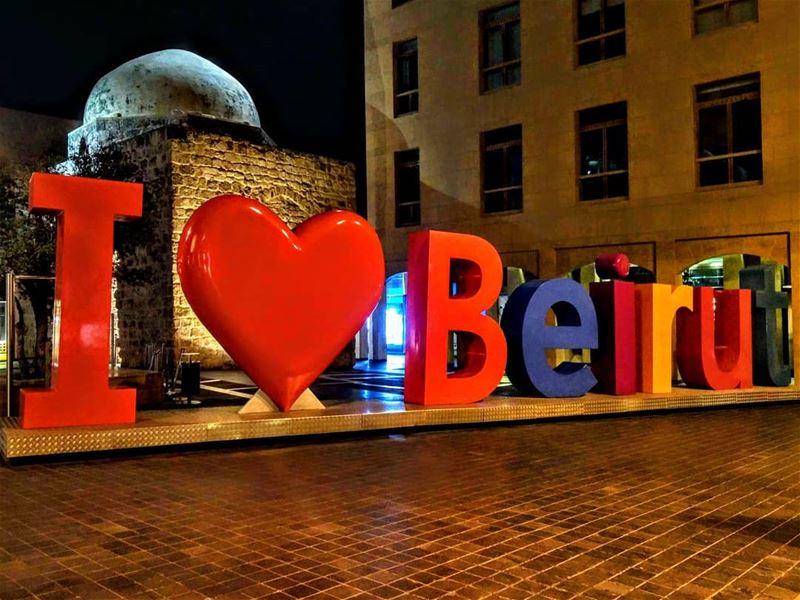 G❤❤D n i g h t •••• lebanon dt beirut livelovelebanon livelovebeirut... (Downtown Beirut)