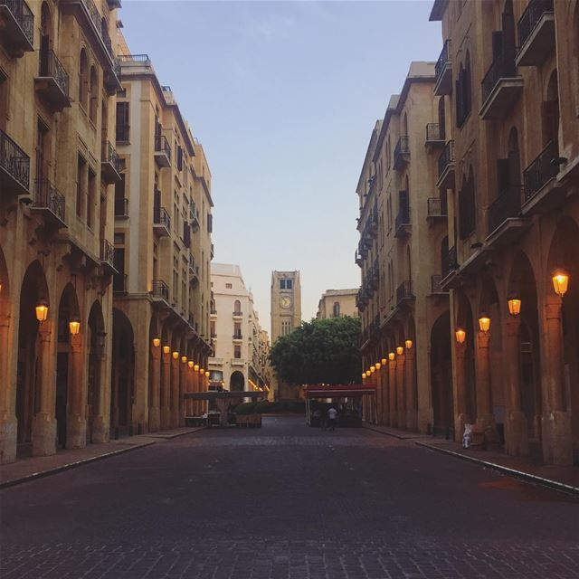 It was like this time last year I booked my flight to my happy place☺️ ... (Downtown Beirut)