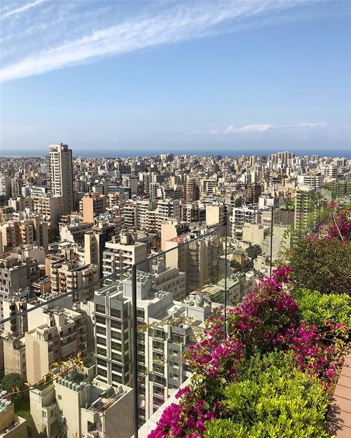 Beirut was badly damaged during the Lebanese civil war, and this is how... (Beirut, Lebanon)