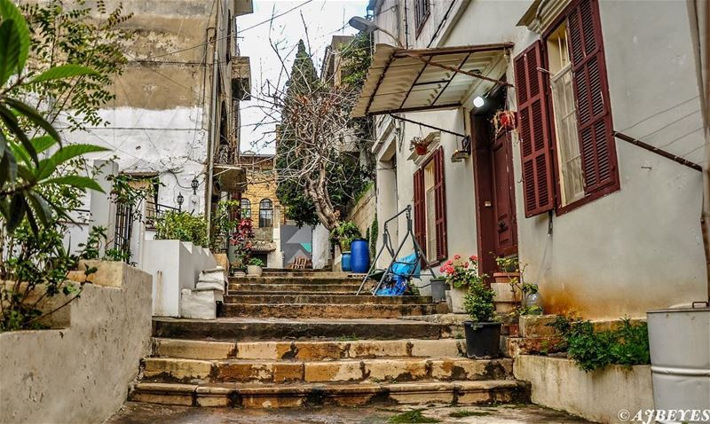 The beauty of Ashrafieh. streetphotography ashrafieh beirut lebanon ... (Achrafieh, Lebanon)