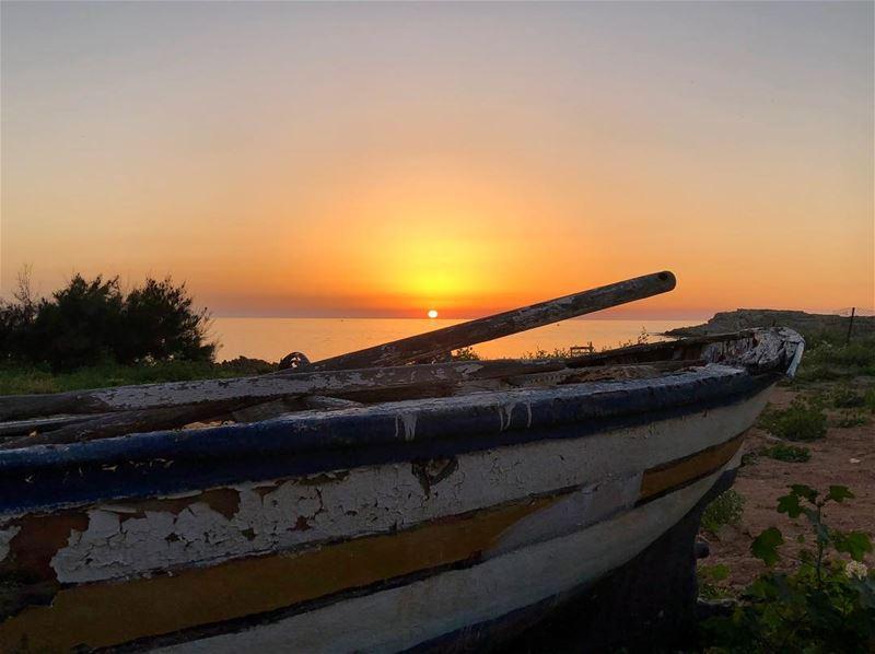 sunset sunsetlovers loveorange ... (Anfeh Al-Koura أنفه الكورة)