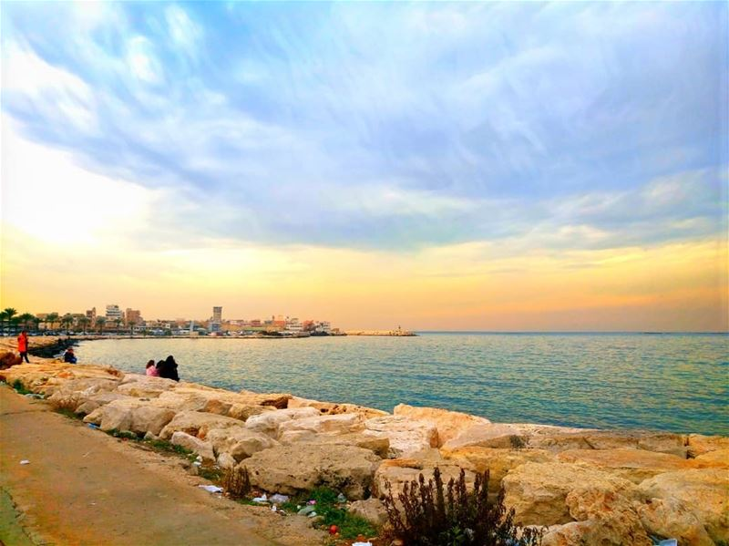 Good afternoon dear followers with this amazing viewPhoto taken by @place (Tyre, Lebanon)
