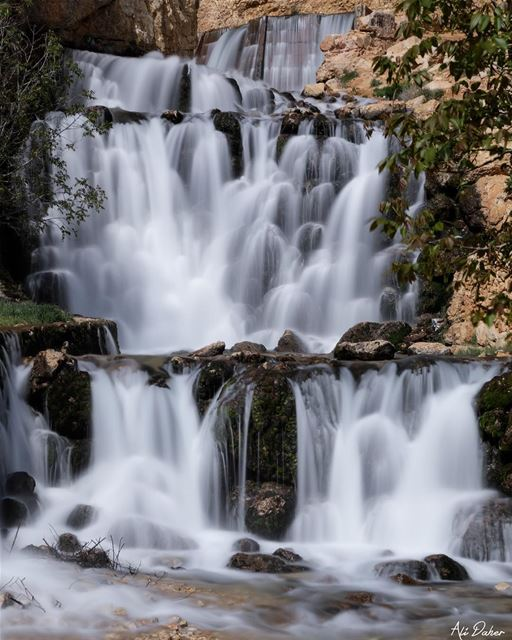 Yammoune waterfalls....... photography photographer photooftheday... (El Yammoûné, Béqaa, Lebanon)