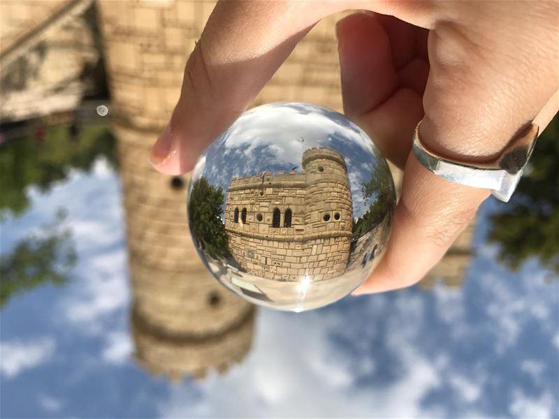 Creativity is a wild mind &A disciplined eye.🔮••••• bluesky💙 ... (Moussa castleقلعة موسى)