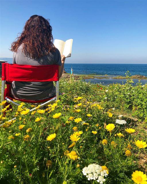 springinanfeh relaxing mood springbreak springtime colorful ... (Anfah, Liban-Nord, Lebanon)