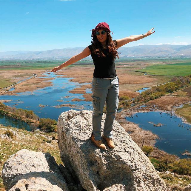 I believe i can fly ammiq earthmagic amazingplace bekaa blueandgreen ... (`Ammiq, Béqaa, Lebanon)