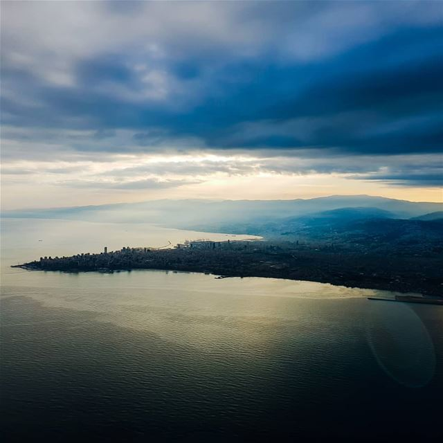 Mornings be like... beirut lebanon clouds morning takeoff sea ...