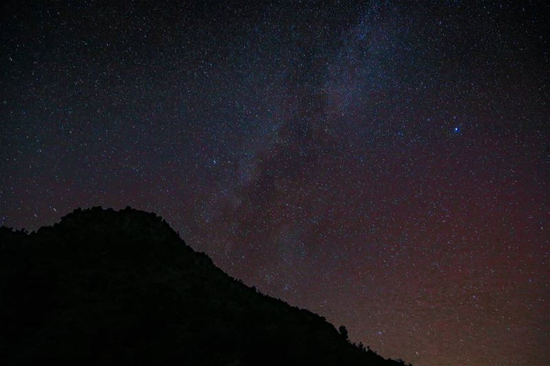 lebanese lebanon milkywaychasers milkyway astrophotography stargazer ... (وادي جهنم)
