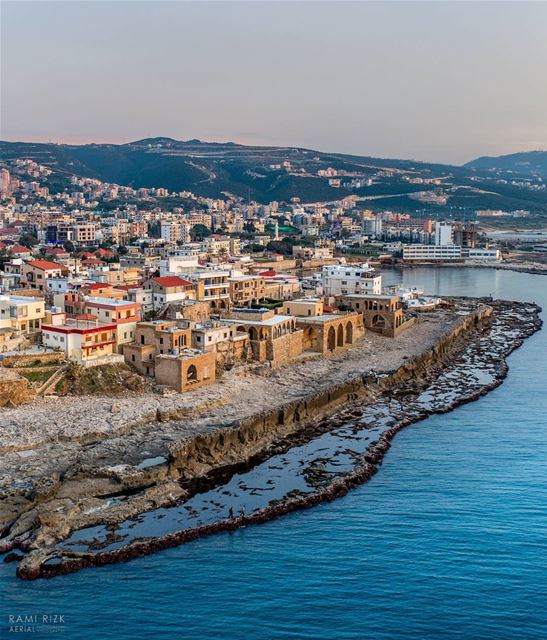 The Phoenician Wall 🗾🌊... lebanon batroun north dji drones ... (Batroun District)