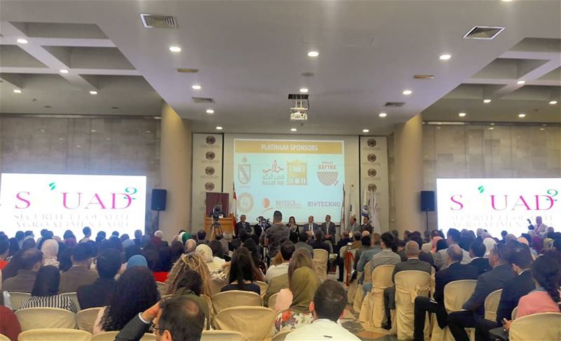 Always happy to attend conferences in my beloved  Tripoli .The second... (Chamber of Commerce, Industry, Agriculture of Tripoli & North Lebanon)