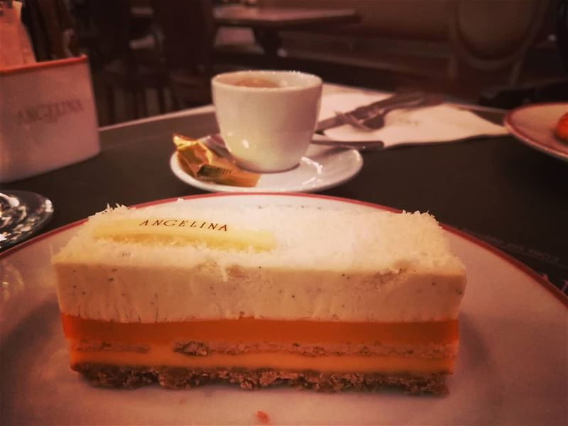food dessert cake layers fruit flavors coffee time afternoon ...