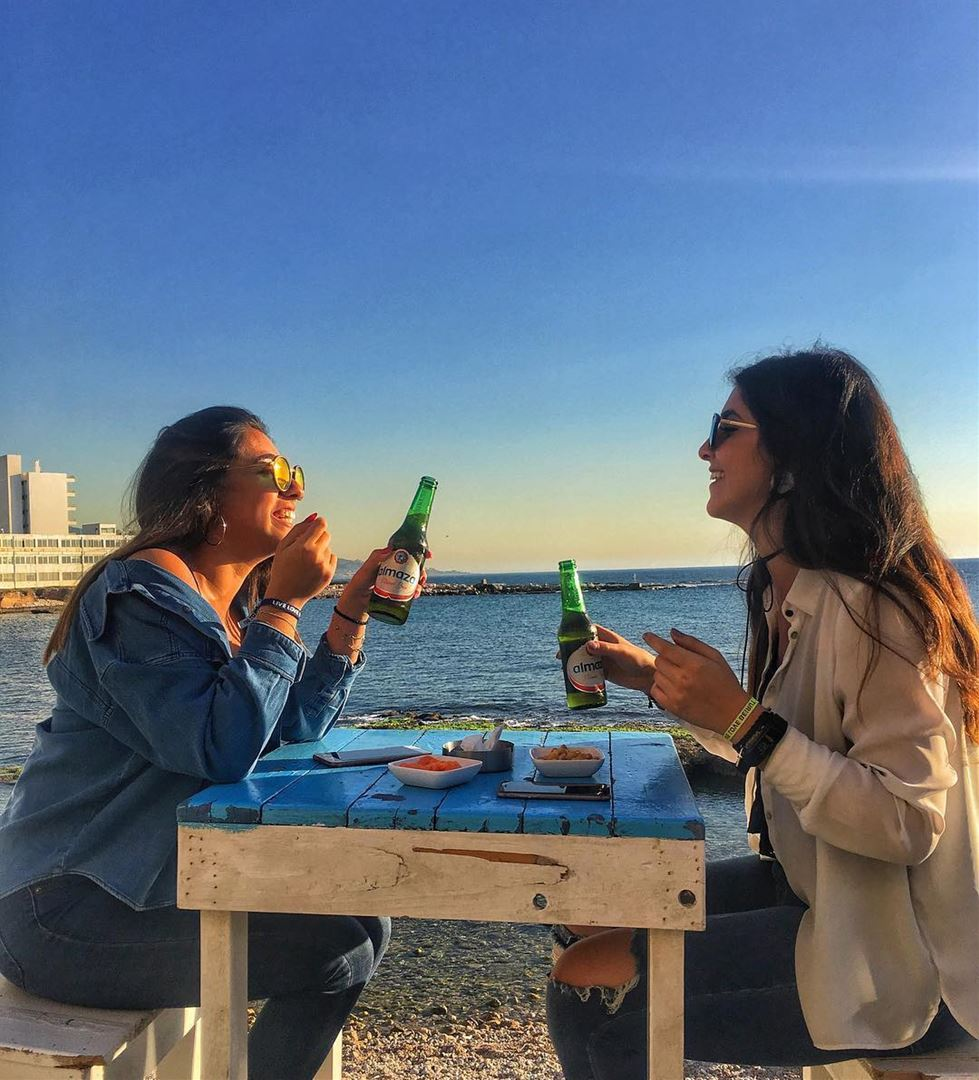 Cheers to an everlasting Friendship 🍻Photo taken by @ninaa.daher ☺️... (RAY's Batroun)