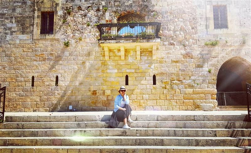 Chouf in spring ---> A date with the Sun ☀️ travel travelblogger ... (Chouf)