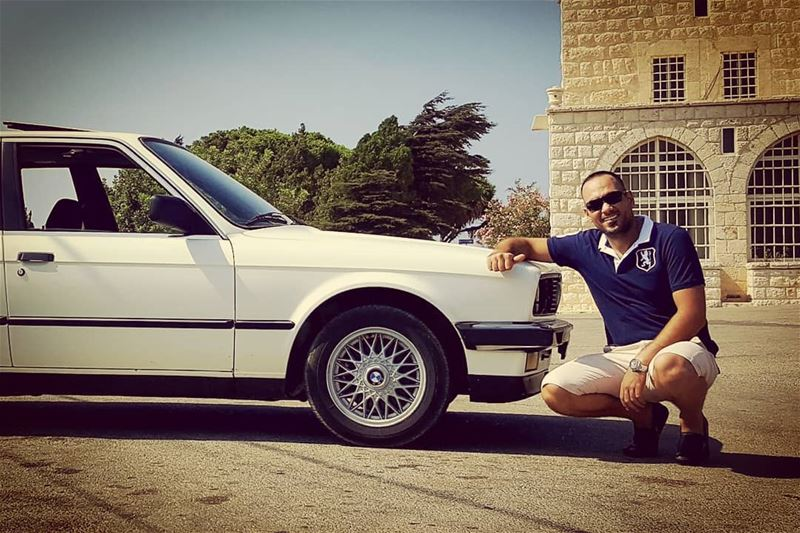 Two years ago.... e30 bmw bmwe30 e30owners e30_zone e30_head e30daily... (Saydet El Nourieh)
