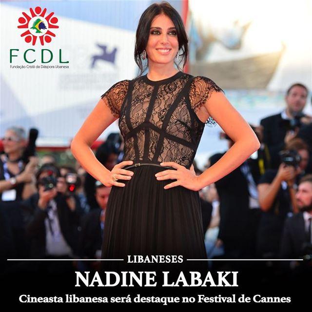🇱🇧 A cineasta libanesa Nadine Labaki nos deixa orgulhosos novamente! Seu... (Festival De Cannes)