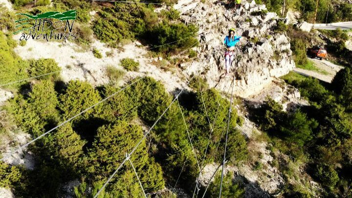 skywalk ehden ehdenadventures monkey bridge travel nature lebanon ... (Lebanon)