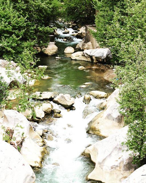 Al Kadi river chouf livelovelebanon livelovechouf landscapephotography...