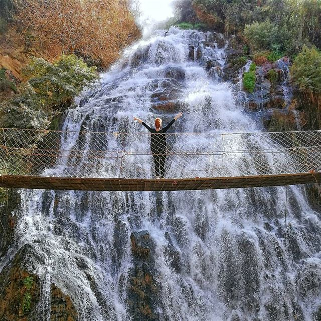 ✌️ Choose Happy ✌️ (Ouyoun El Samak Waterfalls)