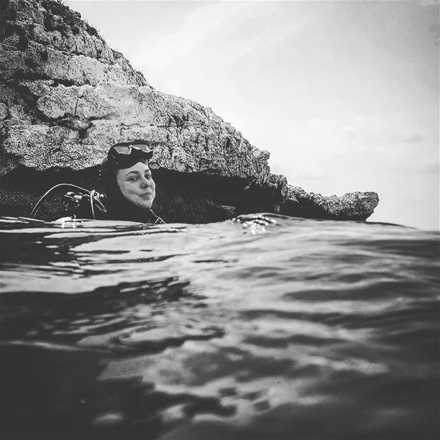 Post diving happiness - ichalhoub in Batroun north Lebanon shooting ...
