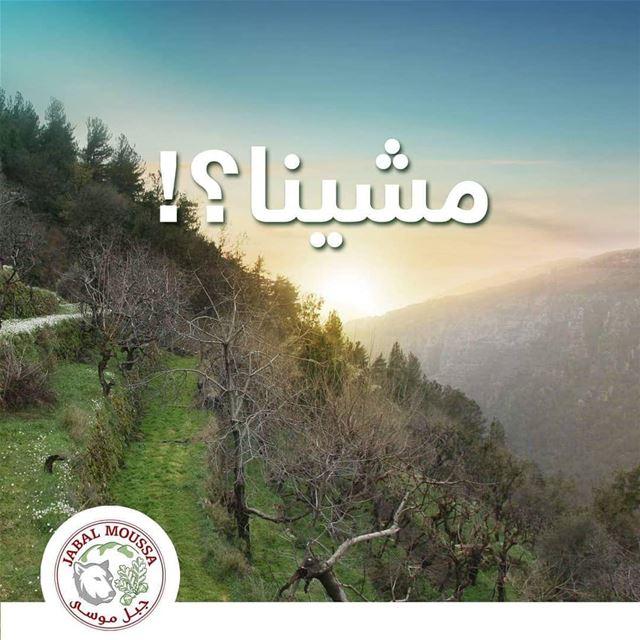 Let's go to JabalMoussa? ~ مشينا؟ unescomab unesco biospherereserve ...