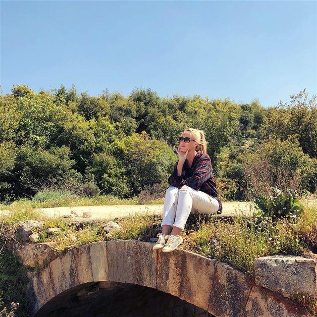The magic of green places fill a wanderers heart 💚 outdoorliving... (Batroûn)