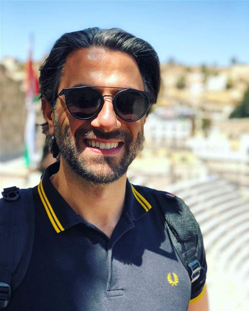 ابتسامة من الاردن 😁😁😁... 🇯🇴..... jordan amman roman ... (Amman, Jordan)