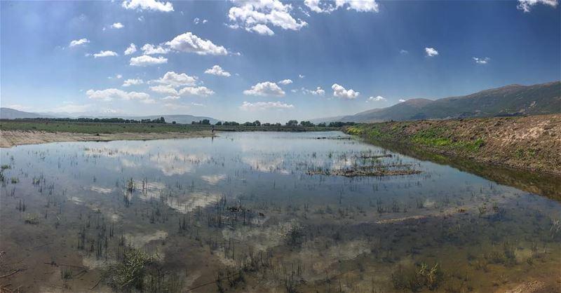 Lakes‼️.................... lebanon nature ... (Bekaa Valley)