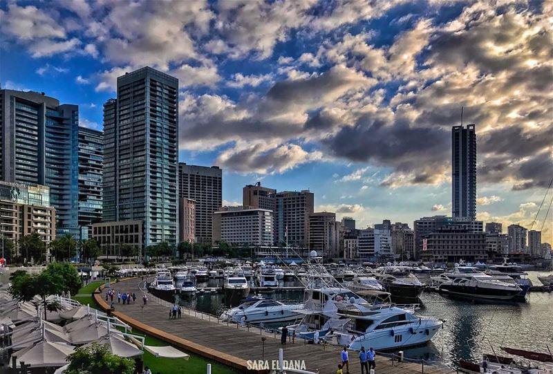 For though I fall, I will rise again 💙 B E I R U... (Beirut, Lebanon)