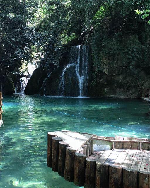 nature waterfall hiking water beautiful adventure love wanderlust ... (Baakline, Mont-Liban, Lebanon)