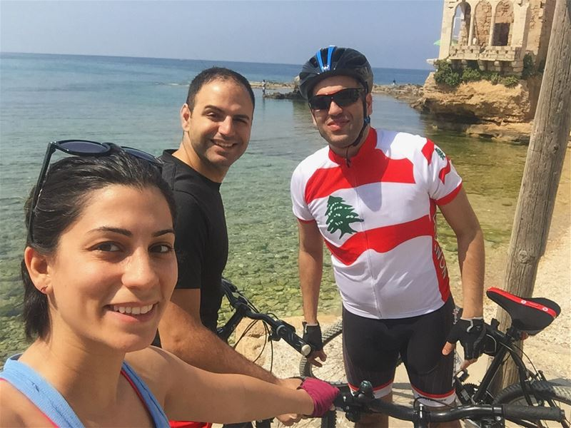 Sunday is meant for outdoor activities! 🚲 ☀️ 🌊Swipe right and enjoy our... (Batrun, Liban-Nord, Lebanon)