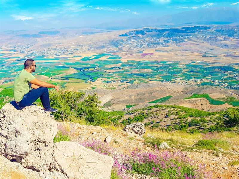 Nothing can beat this amazing view! (Mount Lebanon Governorate)