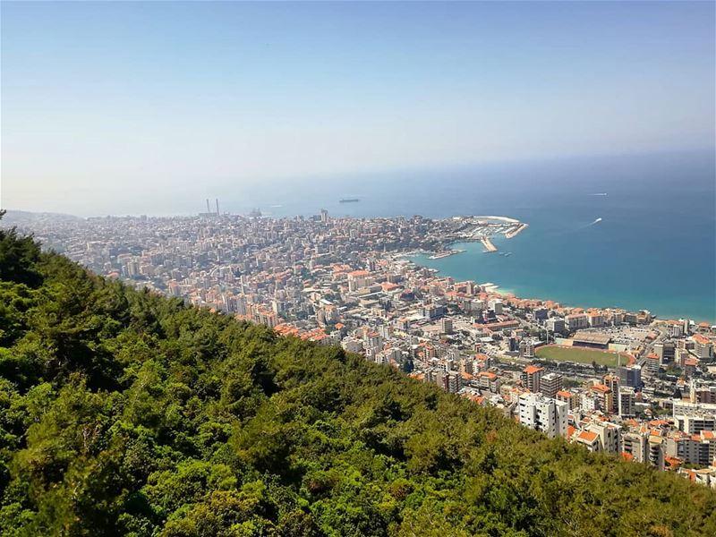 🌄🌅 lebanon ... (Harîssa, Mont-Liban, Lebanon)